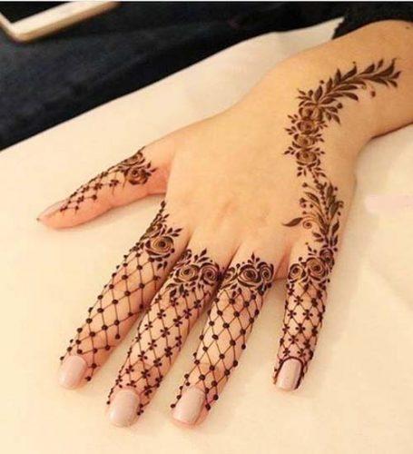 Finger Mehndi Designs 6