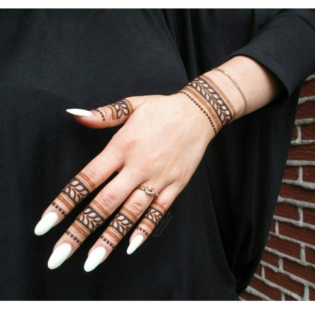 Finger Mehndi Designs 7