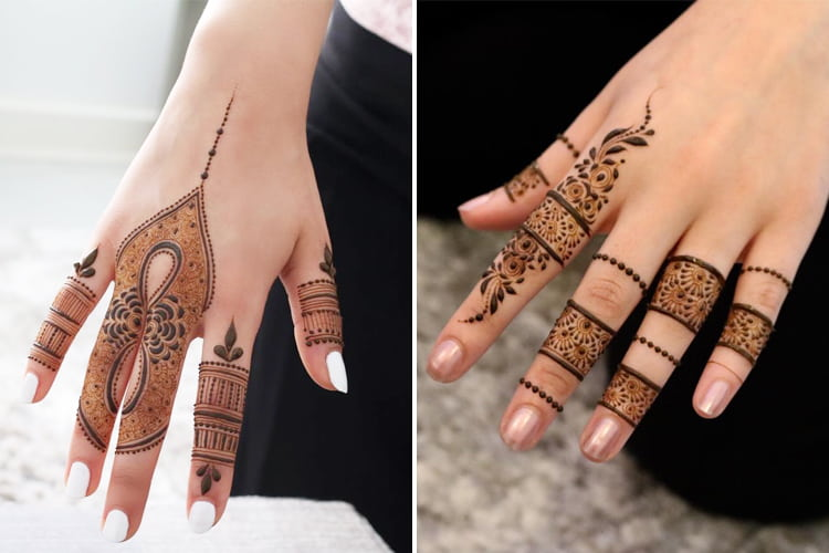 Finger Mehndi Designs 8