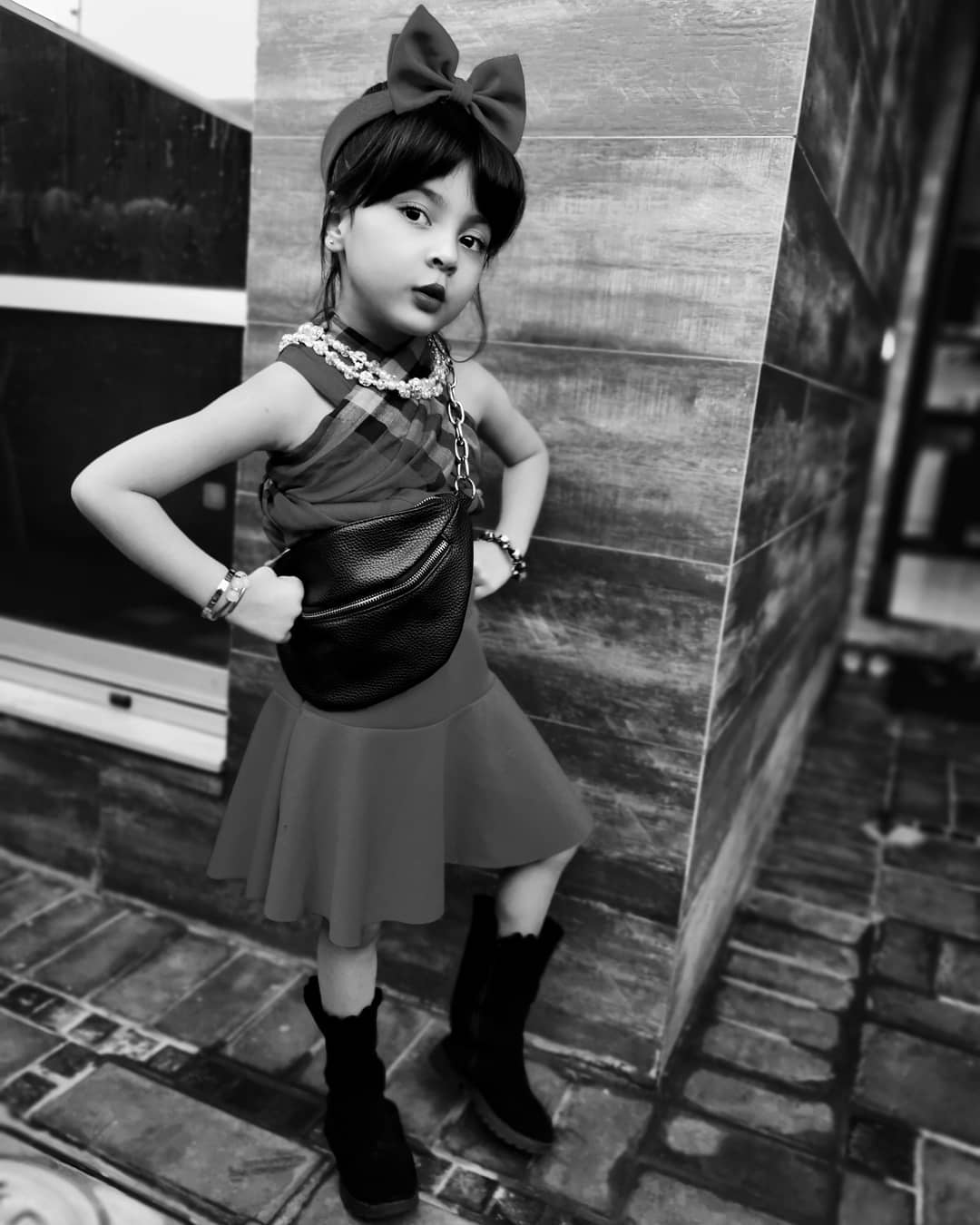 Photo Shoot of Actress Fiza Ali's Daughter Faraal for Kids Fashion Brand