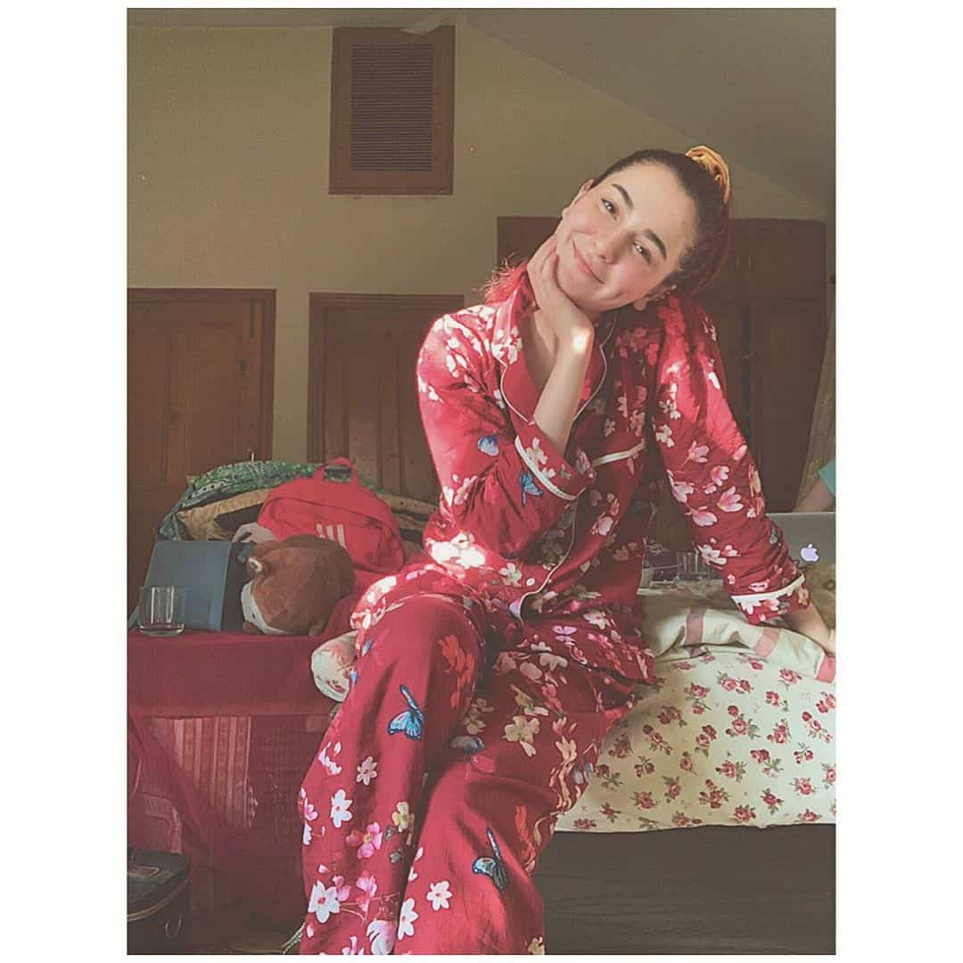 Some of the Beautiful Clicks of Cute Actress Hania Aamir