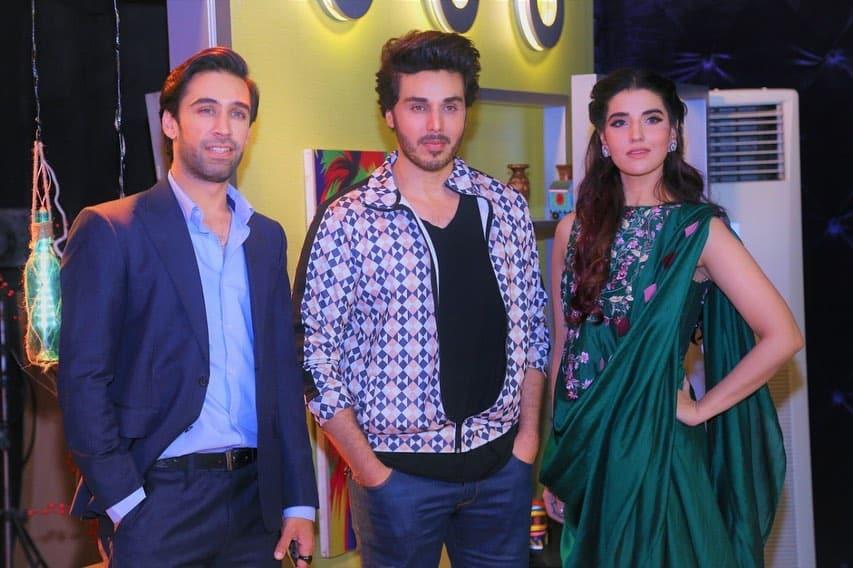 Hareem Farooq & Ali Rehman Khan in Bol Nights with Ahsan Khan