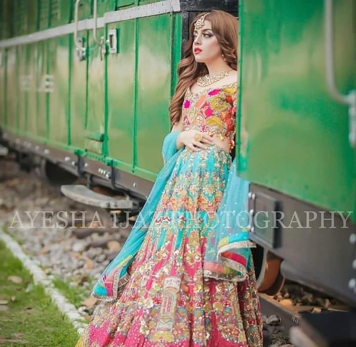 Gogeous Alizeh Shah Latest Bridal Photoshoot