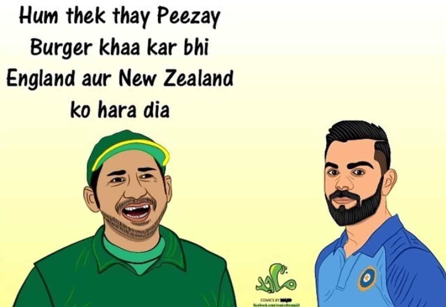 India Vs New Zealand Worldcup 2019 Memes (11)