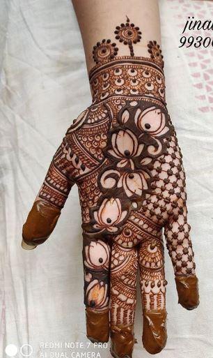 Indian Mehndi Design 1