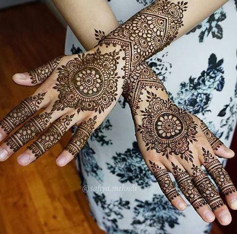 Indian Mehndi Design 10