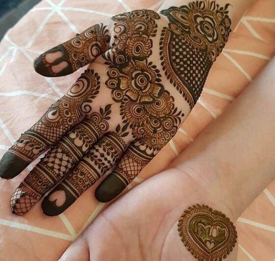 Indian Mehndi Design 11