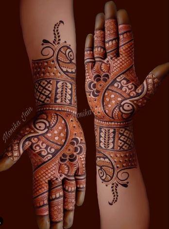 Indian Mehndi Design 12