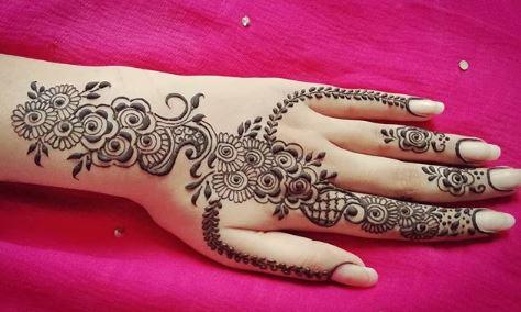 Indian Mehndi Design 13
