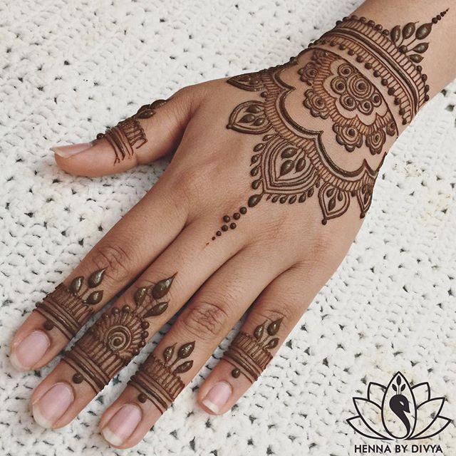 Indian Mehndi Design 15