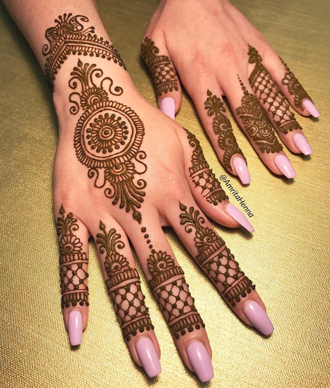 Indian Mehndi Design 18