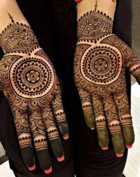 Indian Mehndi Design 19