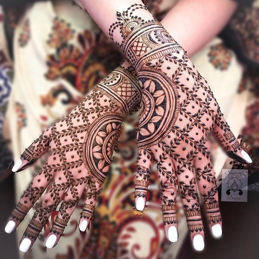 Indian Mehndi Design 20