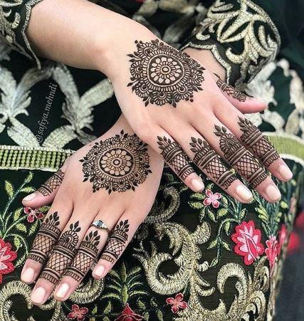 Indian Mehndi Design 21