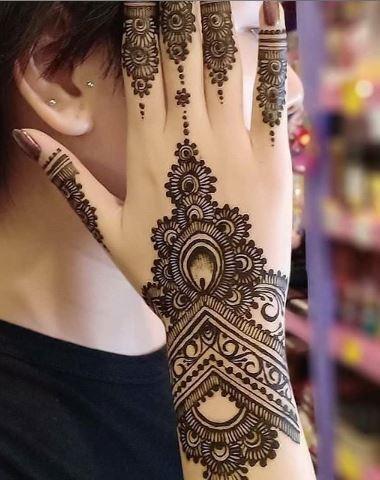 Indian Mehndi Design 22