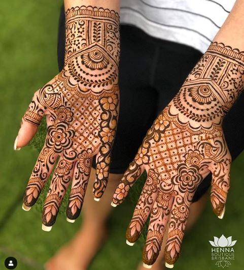 Indian Mehndi Design 26