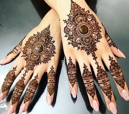 Indian Mehndi Design 27