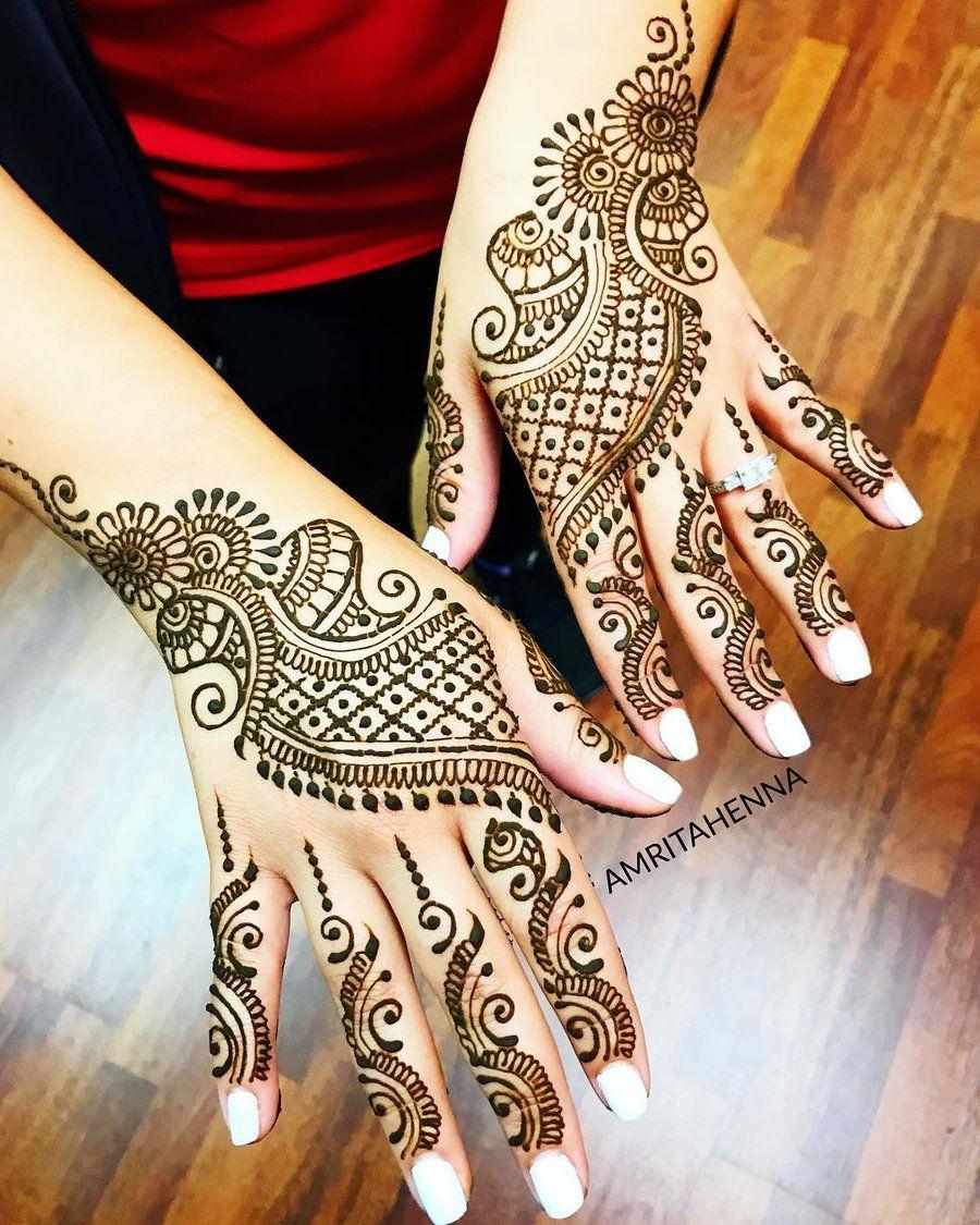 Indian Mehndi Design 3