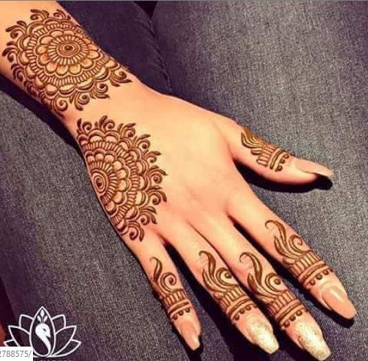 Indian Mehndi Design 4
