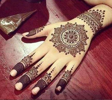 Indian Mehndi Design 5