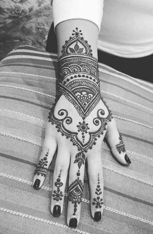 Indian Mehndi Design 6