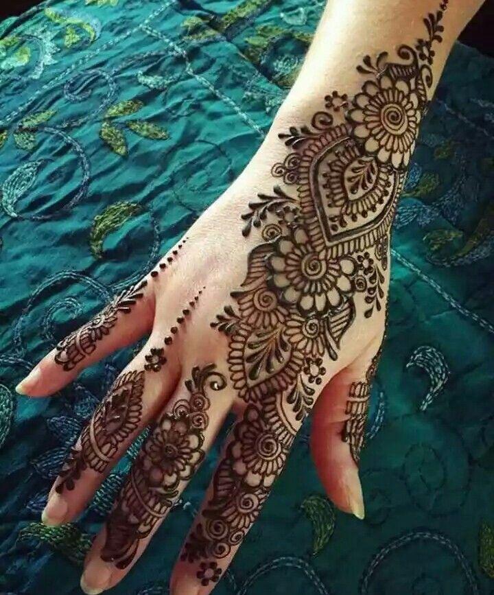 Indian Mehndi Design 8