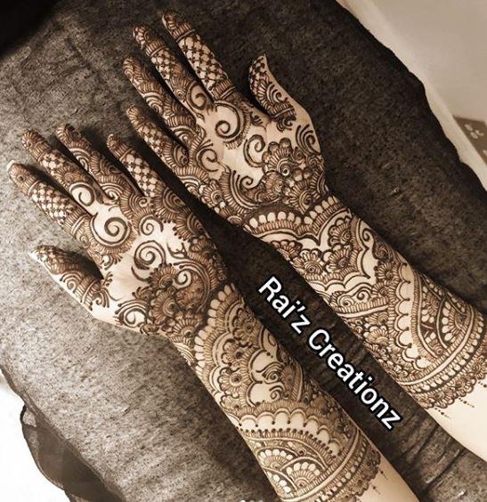 Indian Mehndi Design 9