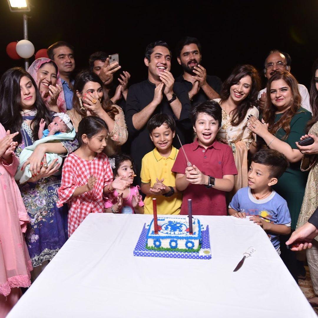 Iqrar Ul Hassan Celebrates Birthday of his son Pehlaaj Hasaan 2