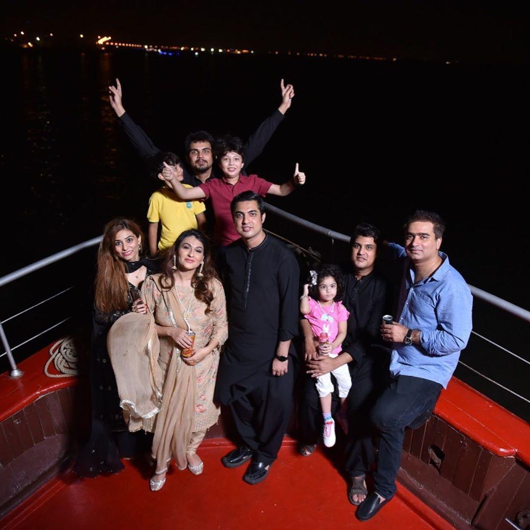 Iqrar Ul Hassan Celebrates Birthday of his son Pehlaaj Hasaan 3
