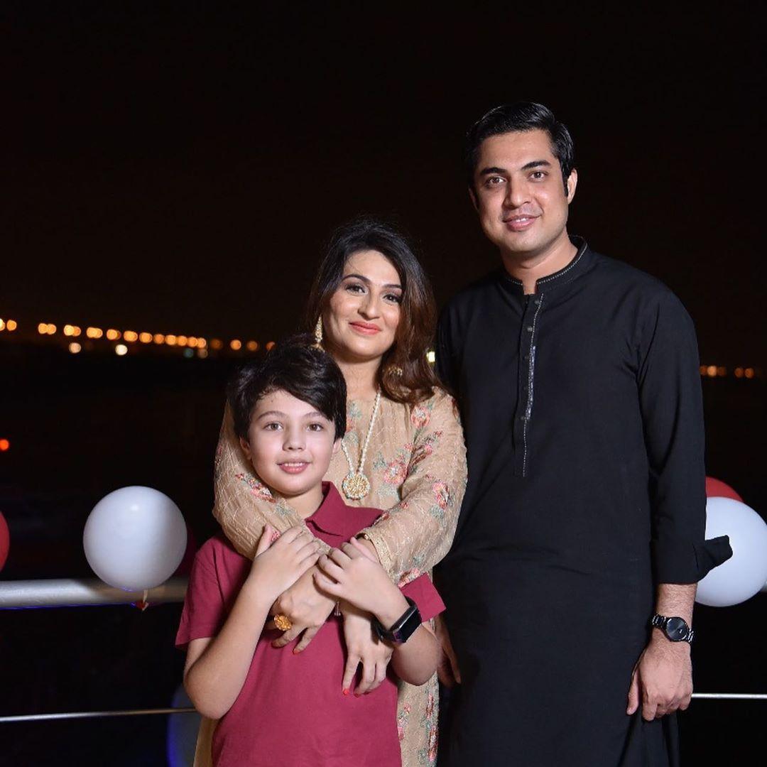 Iqrar Ul Hassan Celebrates Birthday of his son Pehlaaj Hasaan 4
