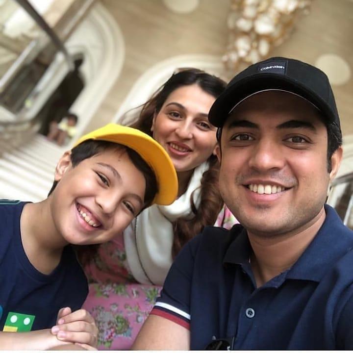 Iqrar Ul Hassan Celebrates Birthday of his son Pehlaaj Hasaan 6
