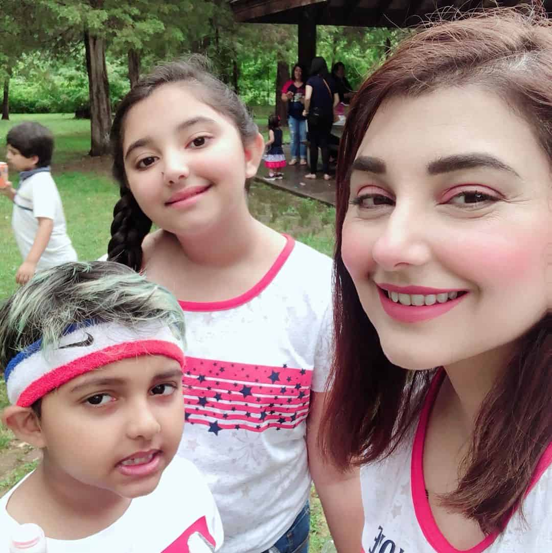 Beautiful Family Javeria & Saud Enjoying with Kids in USA