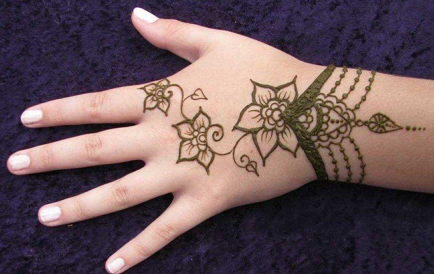 Kids Mehndi Designs 1