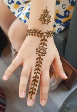 Kids Mehndi Designs 11