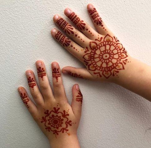 Kids Mehndi Designs 12
