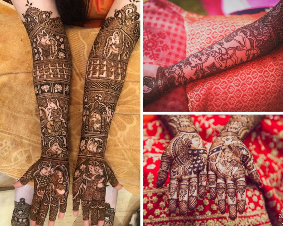 Meaningful Bridal Mehndi Design 1