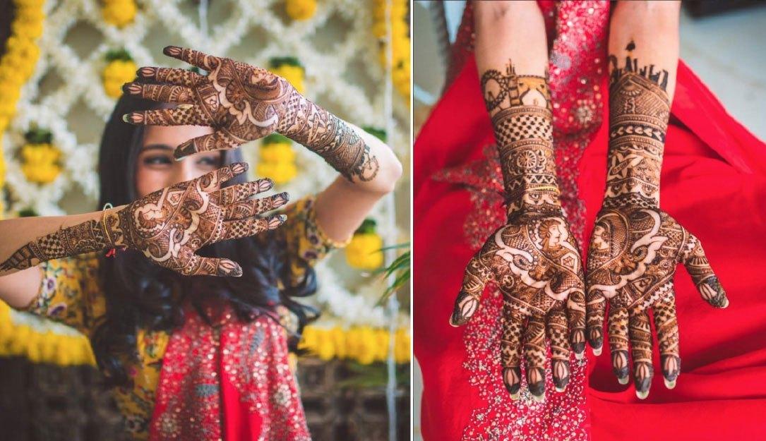Meaningful Bridal Mehndi Design 2