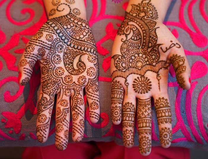 Meaningful Bridal Mehndi Design 3
