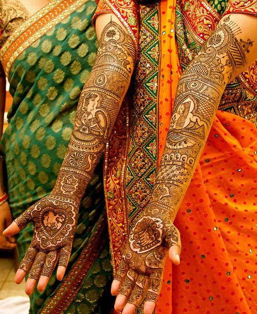 Meaningful Bridal Mehndi Design 4
