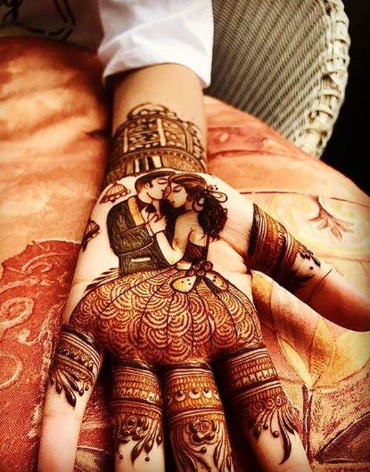 Meaningful Bridal Mehndi Design 5