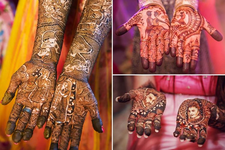 Meaningful Bridal Mehndi Design 6