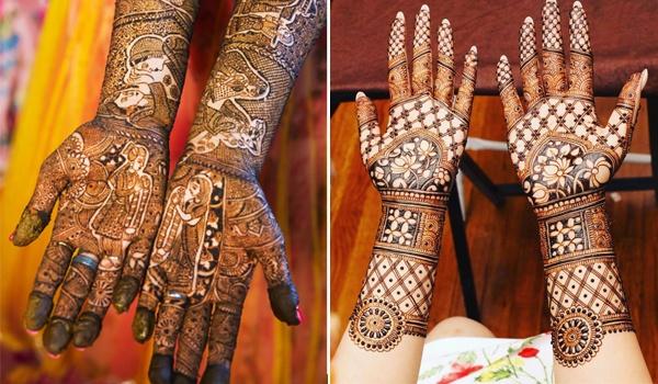 Meaningful Bridal Mehndi Design 7