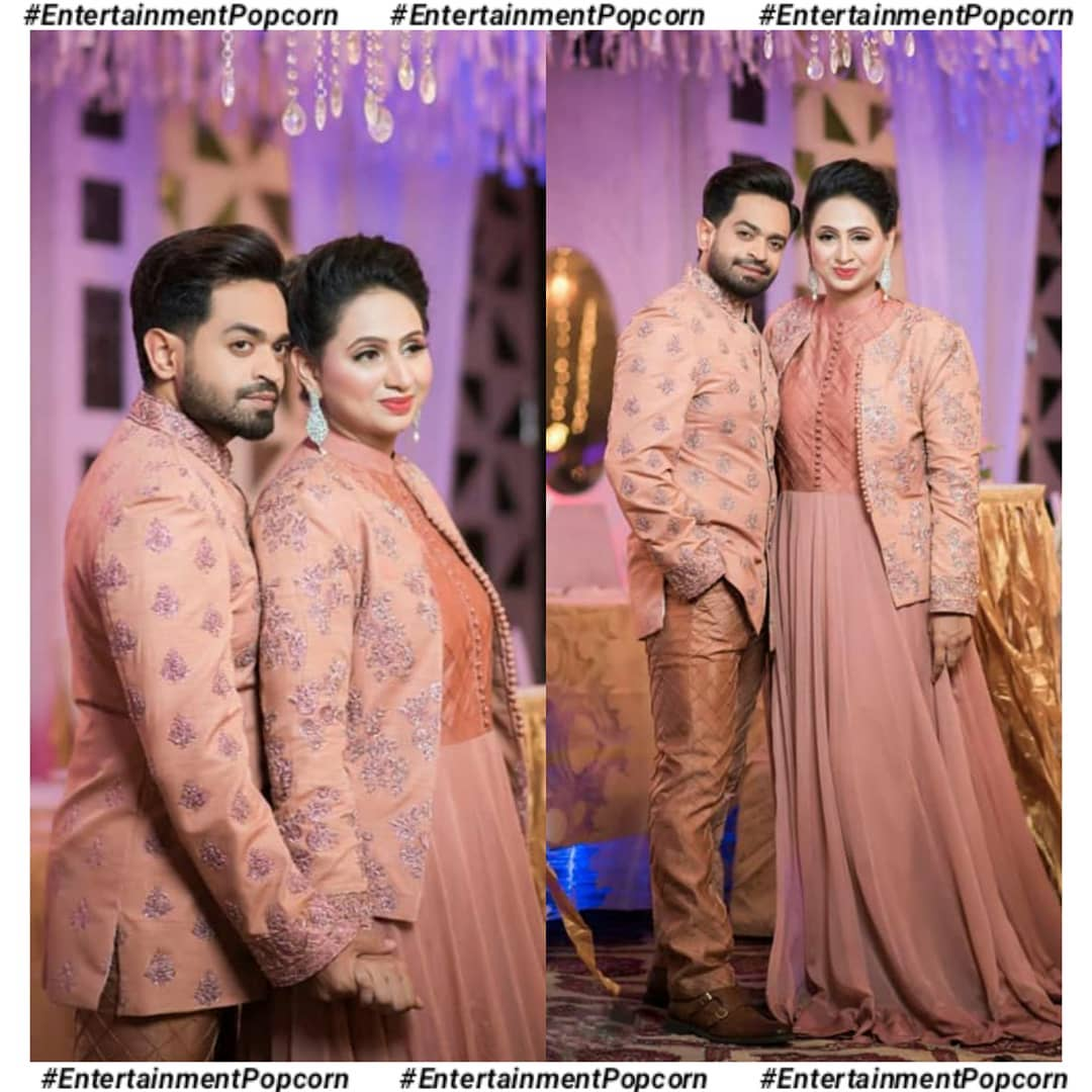 Actor Naveed Raza Celebrating his 6th Anniversary with wife Kanwal