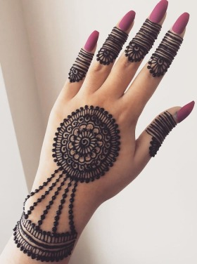 Ornamental mehndi designs 1