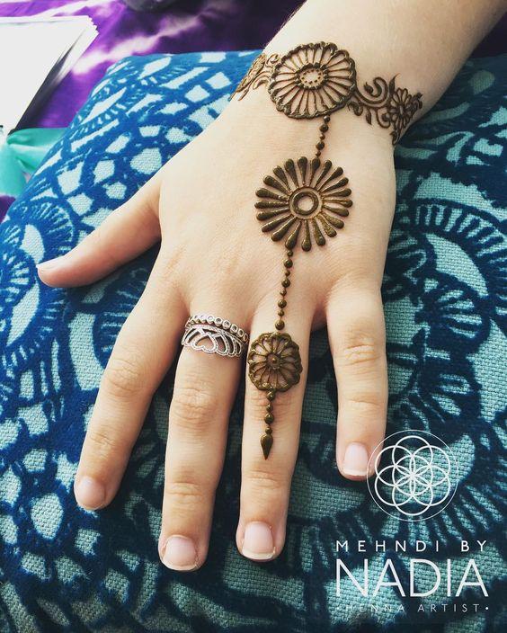 Ornamental mehndi designs 10