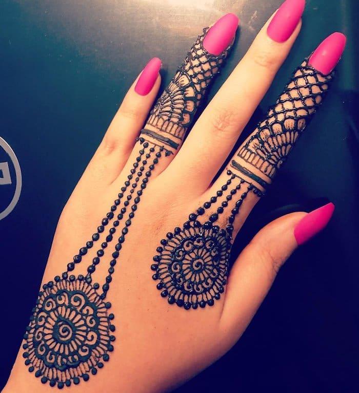 Ornamental mehndi designs 2