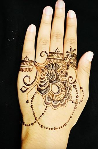 Ornamental mehndi designs 3