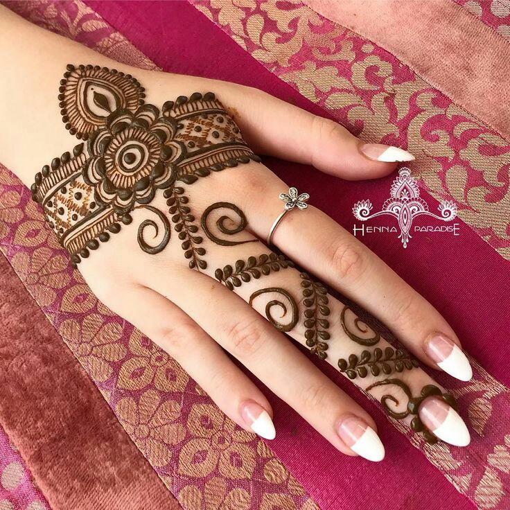 Ornamental mehndi designs 4