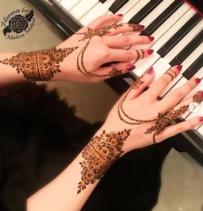 Ornamental mehndi designs 7