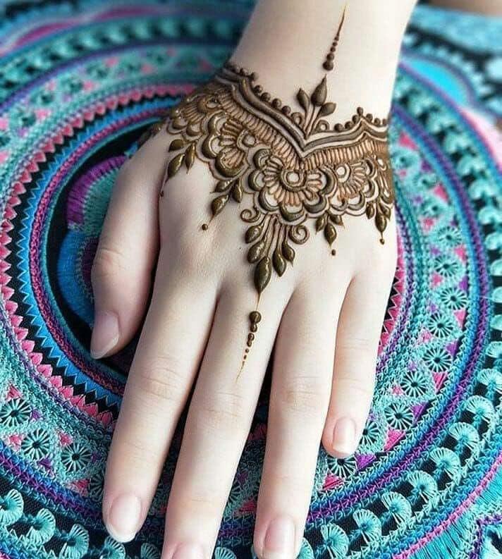 Ornamental mehndi designs 9
